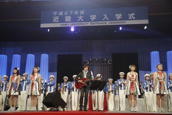 近畿大学の入学式でつんく♂が祝辞