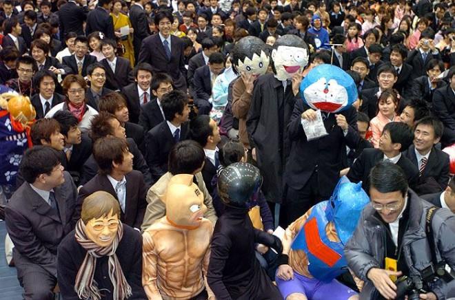 京都大学の卒業式2